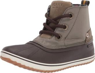 Sperry Women's Schooner 3-Eye Twill Nylon Rain Boot