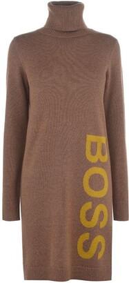HUGO BOSS Logo Dress