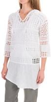 XCVI Alisha Hoodie Shirt - Long Sleeve (For Women)
