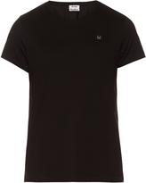 Acne Studios Standard face-patch cotton T-shirt
