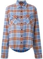 R 13 plaid shirt - women - Cotton - XS