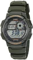 Casio Men's '10-Year Battery' Quartz Resin Watch
