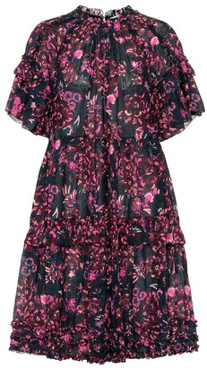 Ulla Johnson Fawn floral cotton-blend dress