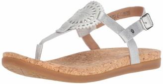 UGG Women's W Ayden II Metallic Flat Sandal