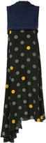 Marni dot print layered dress
