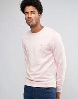 Farah Pickwell Overdye Sweatshirt in Pink