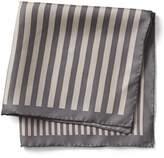 Banana Republic Multi Stripe Silk Pocket Square