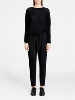 DKNY Pure Harem Pant With Ankle Zips