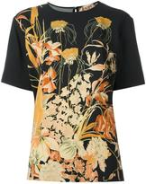 No.21 floral print T-shirt - women - Viscose - 40