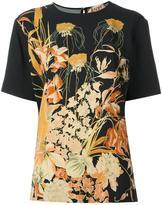 No.21 floral print T-shirt