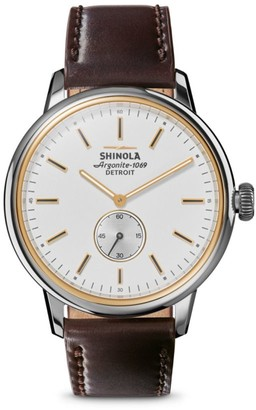 Shinola The Bedrock Analog Wristwatch