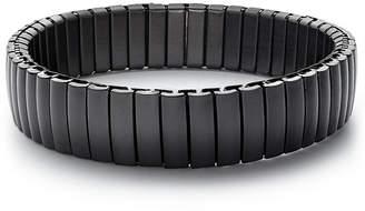 Kenneth Cole Reaction Men Gunmetal Stretch Bracelet