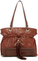 Sondra Roberts Leather Shopper