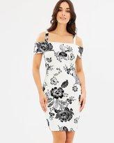 GUESS Off-Shoulder Elyza Dress