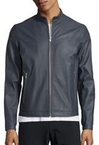 Theory Morvek Erode Leather Jacket