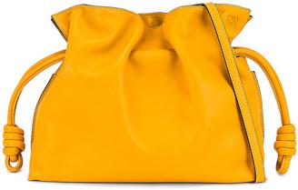 Loewe Flamenco Clutch in Narcisus Yellow | FWRD