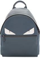 Fendi Grey Metal bag Bugs Backpack
