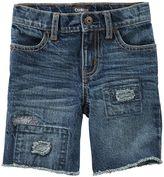 Osh Kosh Boys 4-12 Distressed Denim Shorts