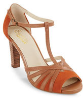 Seychelles Lap Leather Sandal Heels