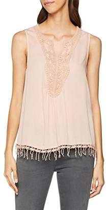 Only Women's Onlsevanna Crochet S/l Top WVN Vest,8 (Manufacturer Size: )