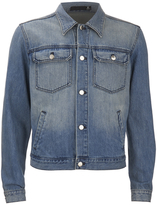 Blk Dnm Loose Fitted Denim Jacket Tinton Blue