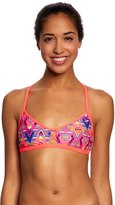Speedo Missy Franklin Endurance Lite Diamond Geo Criss Cross Swimsuit Top 8149877