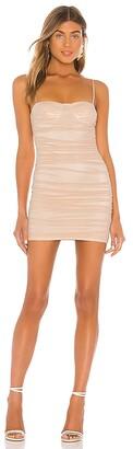 superdown Tamzin Ruched Mini Dress