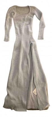 Jacquemus Le Souk Blue Wool Dresses