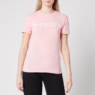 Superdry Women's Regular Flock Entry T-Shirt