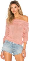 Lovers + Friends Sandy Beach Crop Sweater
