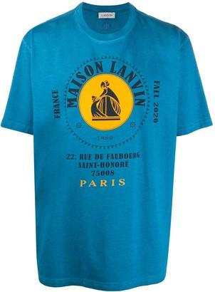Lanvin logo-print cotton T-shirt