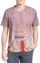 Robert Graham Tanzania Graphic V-Neck T-Shirt