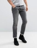 Wrangler Larson Regular Slim Fit Jeans Dove Gray Wash