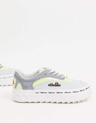 Ellesse Alzina trainers in grey