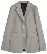 Arket Wool Cotton Blazer