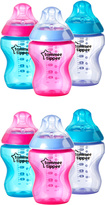 Tommee Tippee Closer to Nature Color My World 9 Oz. Bottle - Set of 6
