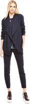 DKNY Pure Drape Front Jacket