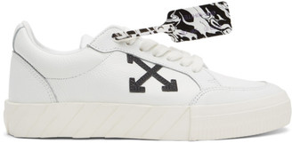 Off-White White Vulcanized Low Sneakers