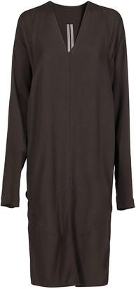 Rick Owens Side-Slit Detail Dress