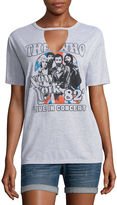 Hybrid Tees The Who Graphic T-Shirt- Juniors