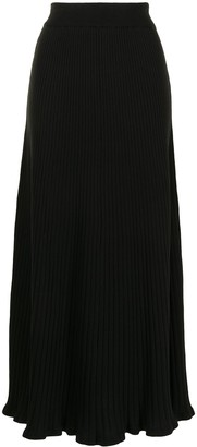 ANNA QUAN Selma ribbed-knit skirt