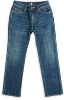 7 For All Mankind Little Boy's & Boy's Straight-Leg Jeans