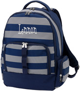 Viv&Lou Backpacks - Navy & Gray Greyson Personalized Backpack