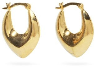 Sophie Buhai Clio 18kt Gold-plated Hoop Earrings - Gold