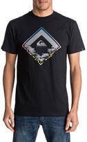 Quiksilver Men's Glitchy Graphic T-Shirt