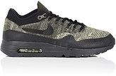 Nike Men's Air Max 1 Ultra Flyknit Sneakers-BLACK, GREEN