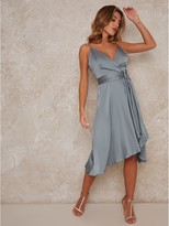 Thumbnail for your product : Chi Chi London Jennifer Bridesmaid Dress - Green