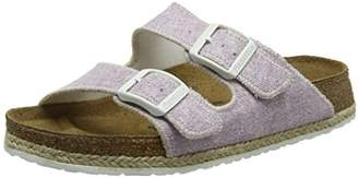 Papillio Women's Beach Purple Open-Toe Pumps Purple Size: 3.5 UK