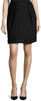 Carven Waffle Texture Above The Knee Skirt