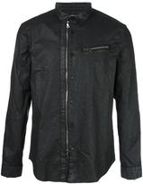 John Varvatos coated shirt jacket - men - Cotton/Spandex/Elastane - M